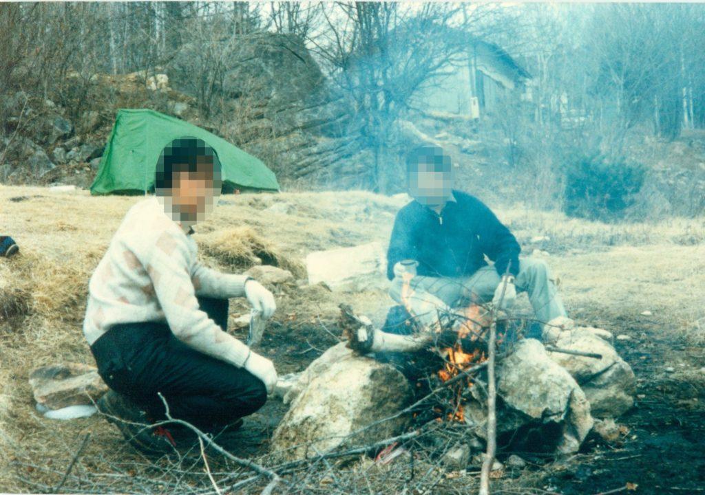 小川山・廻り目平キャンプ場(3月)