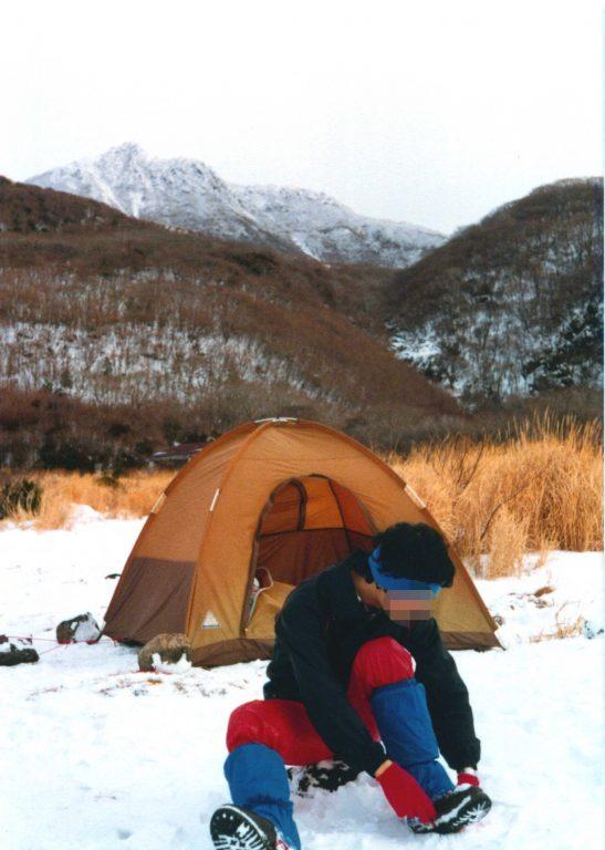 坊がつるのドーム型テント