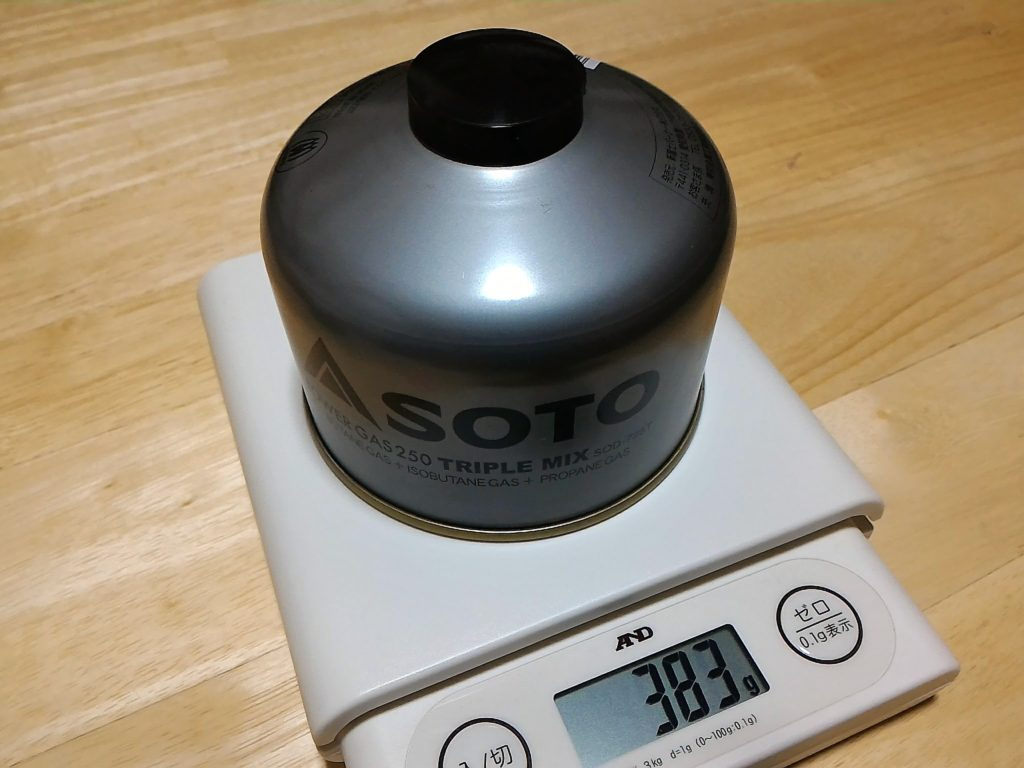SOTO POWER GAS 250 TRIPLE MIX