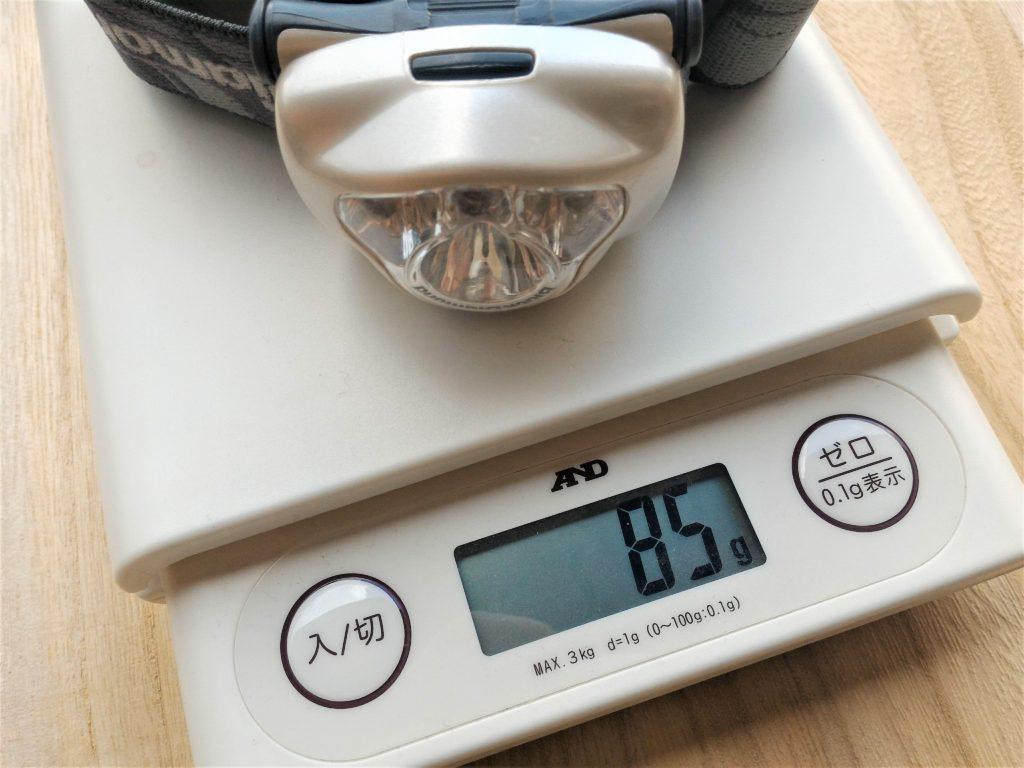 ブラックダイヤモンドのスポット - 重量