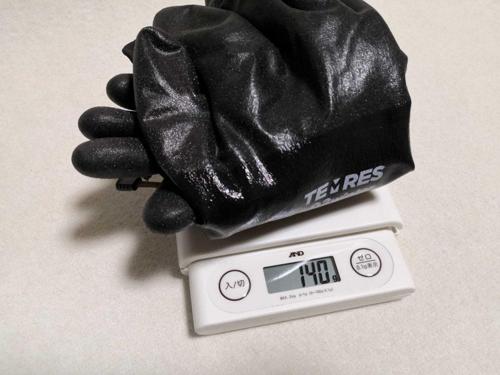 TEMRES 02winterの重量